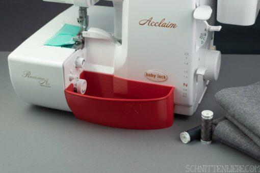 Schnittenliebe 3D Auffangbehälter Baby Lock Acclaim feuerrot
