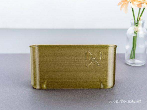 Schnittenliebe 3D Auffangbehälter W6 N656D altgold