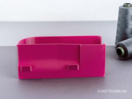Baby Lock Enlighten Evolution serger collecting container pink