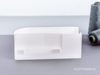 Baby Lock Enlighten Evolution serger collecting container white1