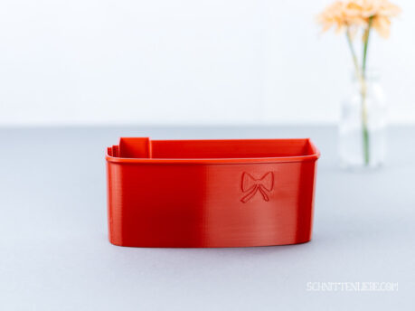Schnittenliebe 3D collecting container Brother 1034DX flame red