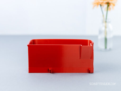 Schnittenliebe 3D Auffangbehälter Brother 1034DX feuerrot