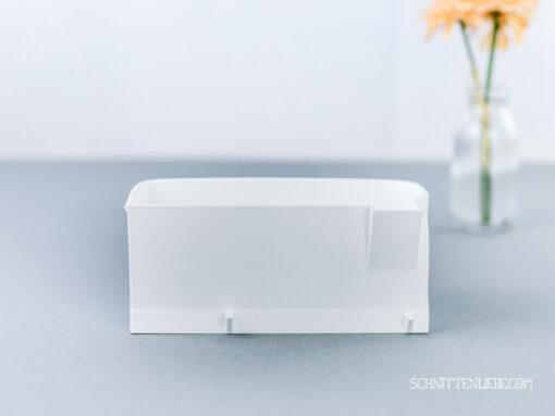 Schnittenliebe 3D Auffangbehälter Brother 1034DX weiß