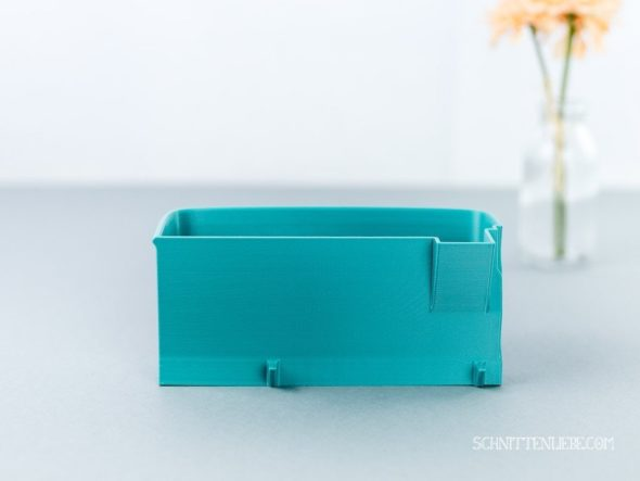 Schnittenliebe 3D Auffangbehälter Brother 1034DX petrol