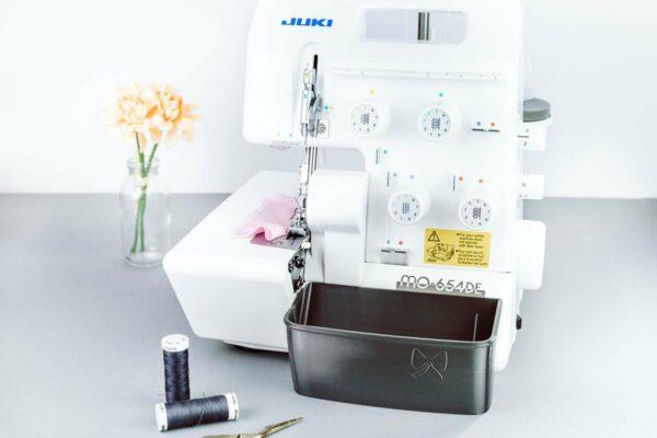 auffangbehälter juki MO-654DE overlock metallic