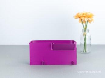 schnittenliebe auffangbehälter 3d druck schleife Brother Lock 2104D purpur