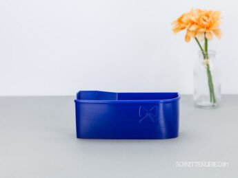 schnittenliebe auffangbehälter 3D Druck overlock babylock baby lock enspire royal blau