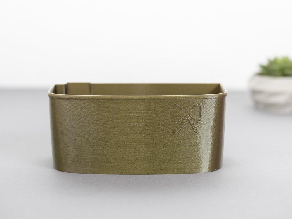 Auffangbehälter fadenreste coverlock pfaff hobbylock 2.5 altgold
