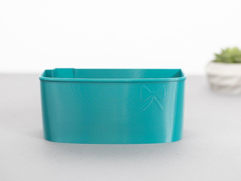 Auffangbehälter fadenreste coverlock pfaff hobbylock 2.5 türkis (2)