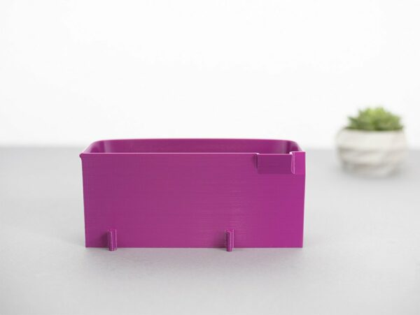 Auffangbehälter fadenreste coverlock pfaff hobbylock 2.5 purpur