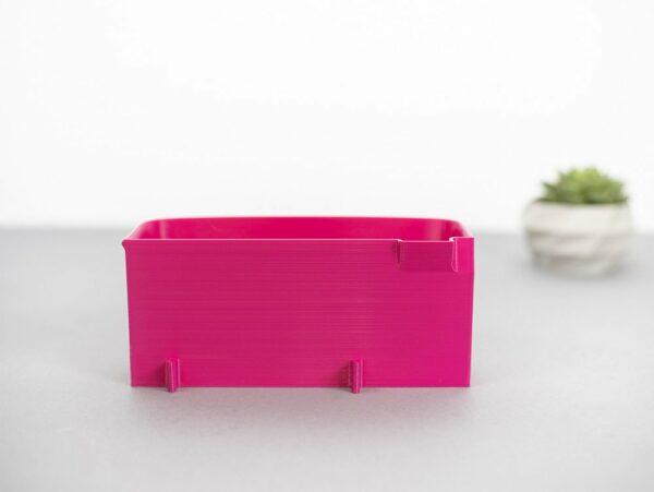 Auffangbehälter fadenreste coverlock pfaff hobbylock 2.5 pink