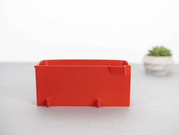 Auffangbehälter fadenreste coverlock pfaff hobbylock 2.5 feuerrot