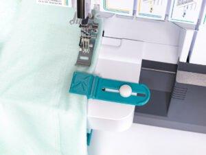 einzelumschlager naehen naehmaschine oben unten