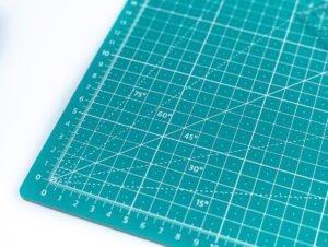 Schneidematten set lineal basteln stoff schnittenliebe