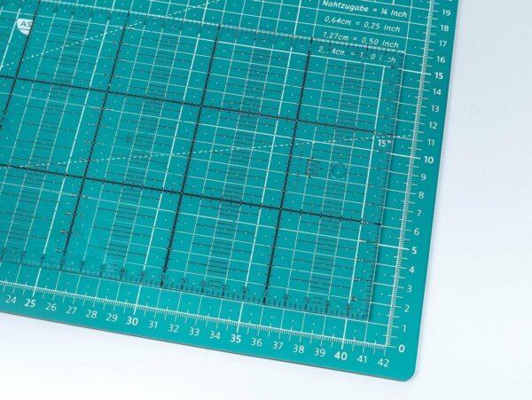 schneidematten set lineal basteln stoff