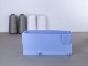 schnittenliebe auffangbehälter stoffreste overlock brother 1034dx flieder-3