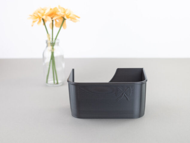 schnittenliebe auffangbehälter stoffreste overlock elna 664 pro metallic schwarz