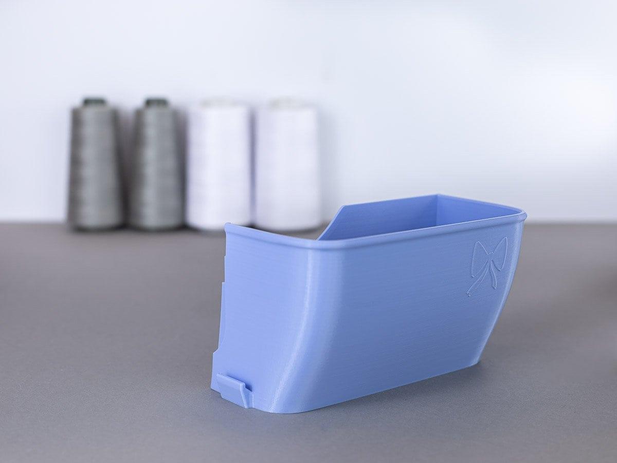 schnittenliebe auffangbehälter stoffreste overlock gritzner 788 flieder