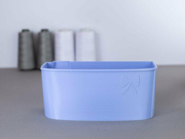 schnittenliebe auffangbehälter stoffreste overlock pfaff 2_5 flieder