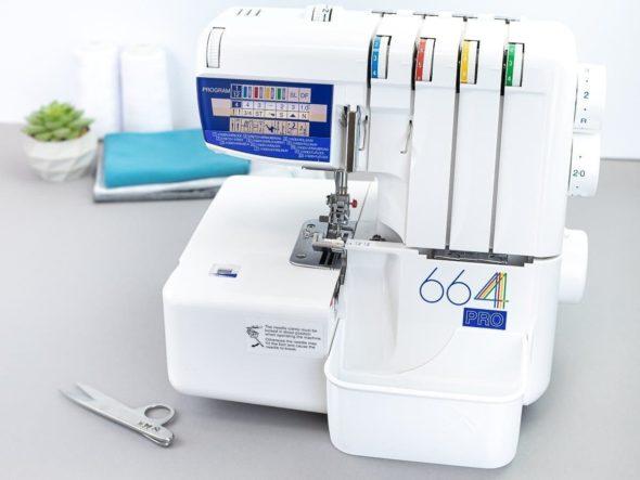 schnittenliebe stoffreste auffangen overlock elna 668 pro auffangbehälter weiß