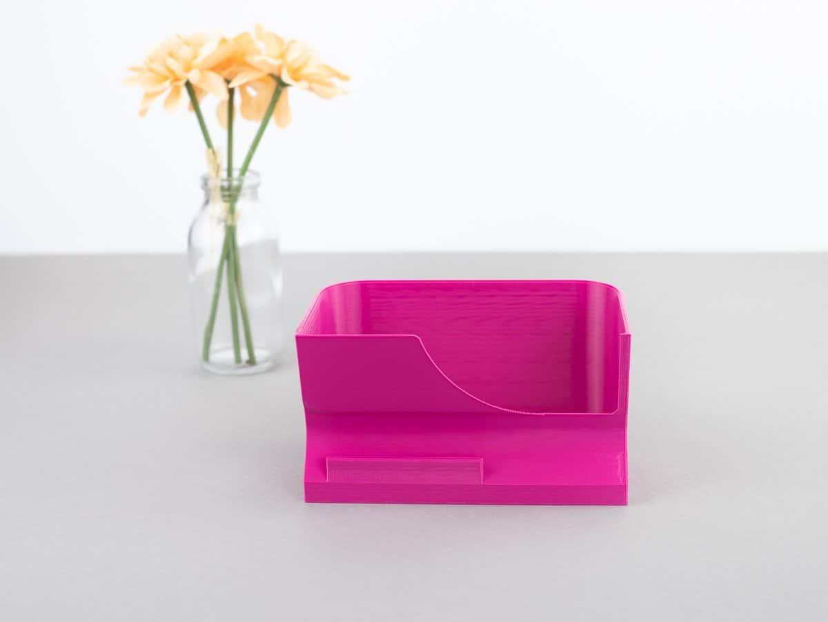 schnittenliebe stoffreste auffangen overlock elna 668 pro auffangbehälter pink