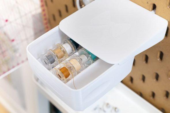 sew organiced box weiß