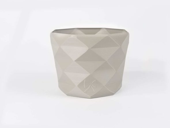 pflanztopf blumentopf diamant grau schnittenliebe