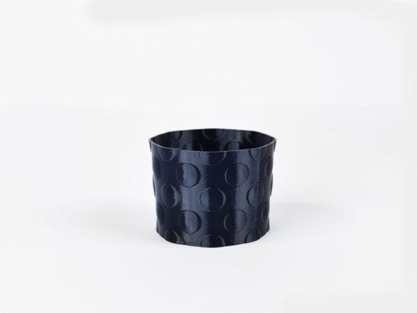 pflanztopf blumentopf rund blau schnittenliebe