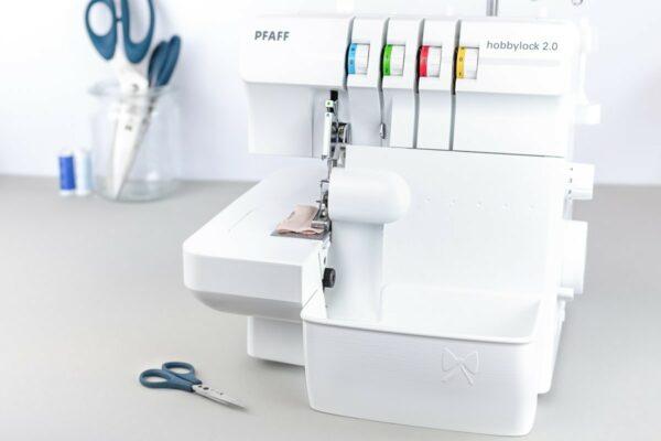 pfaff hobbylock 2.0 auffangbehälter overlock weiß