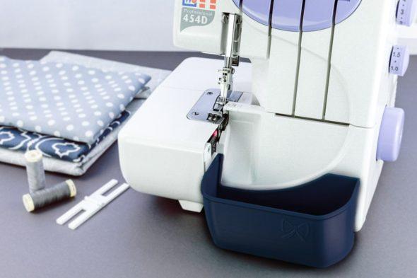 w6 n 454 D auffangbehälter overlock navy blue