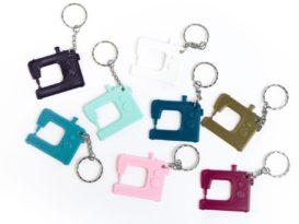 schlüsselanhänger nähmaschine schnittenliebe alle farben